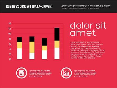 Presentation Concept in Flat Design, Slide 4, 01894, Presentation Templates — PoweredTemplate.com
