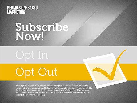 Permission-Based Marketing, Slide 15, 01896, Business Models — PoweredTemplate.com