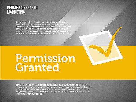 Permission-Based Marketing, Slide 16, 01896, Business Models — PoweredTemplate.com