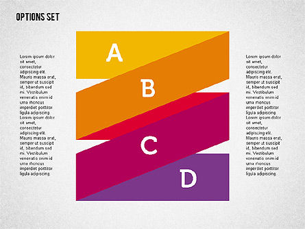 Origami Style Stages in Flat Design, Slide 4, 01897, Shapes — PoweredTemplate.com