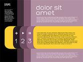 Presentation Agenda in Flat Design#11
