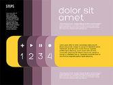 Presentation Agenda in Flat Design#12