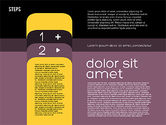 Presentation Agenda in Flat Design#14