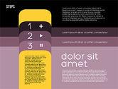 Presentation Agenda in Flat Design#15
