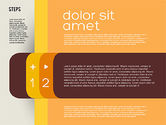 Presentation Agenda in Flat Design#2
