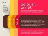 Presentation Agenda in Flat Design#3