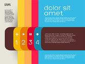 Presentation Agenda in Flat Design#4