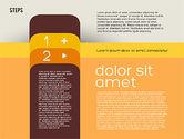 Presentation Agenda in Flat Design#6