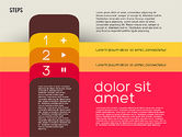 Presentation Agenda in Flat Design#7