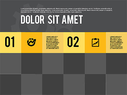 Modern Flat Design Presentation, Slide 12, 01901, Presentation Templates — PoweredTemplate.com