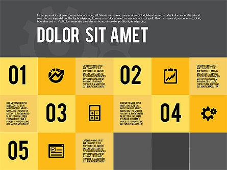 Modern Flat Design Presentation, Slide 15, 01901, Presentation Templates — PoweredTemplate.com