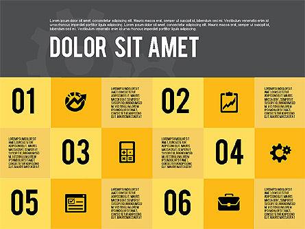 Modern Flat Design Presentation, Slide 16, 01901, Presentation Templates — PoweredTemplate.com