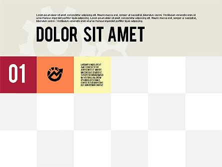 Modern Flat Design Presentation, Slide 3, 01901, Presentation Templates — PoweredTemplate.com