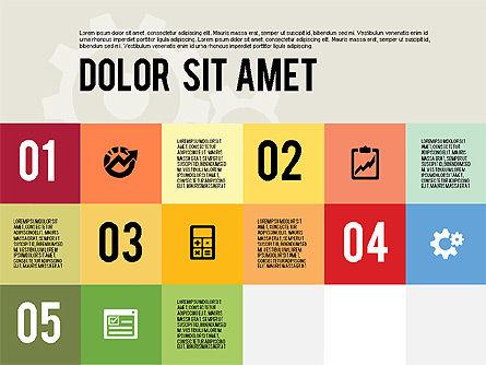 Modern Flat Design Presentation, Slide 7, 01901, Presentation Templates — PoweredTemplate.com