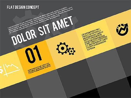 Modern Flat Design Presentation, Slide 9, 01901, Presentation Templates — PoweredTemplate.com
