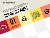 Presentation Templates: Modern platte ontwerp presentatie #01901