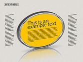 Text Boxes: 3d tekstvakken #01902