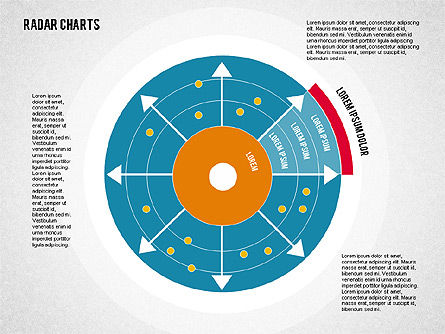 Radar Chart in Flat Style, Slide 2, 01903, Business Models — PoweredTemplate.com