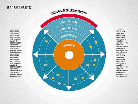 Radar Chart in Flat Style, Slide 3, 01903, Business Models — PoweredTemplate.com