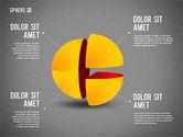 3D Divided Sphere#11