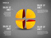 3D Divided Sphere#12