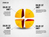 3D Divided Sphere#4