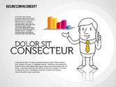 Shapes: Businessman Concept Illustrations #01905