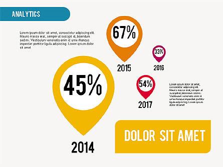 Analytic Infographics Presentation, Slide 2, 01907, Business Models — PoweredTemplate.com