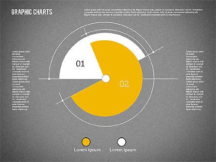 Pie Chart Collection in Flat Design, Slide 16, 01910, Pie Charts — PoweredTemplate.com