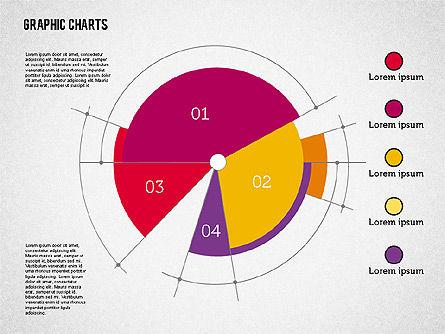 Pie Chart Collection in Flat Design, Slide 6, 01910, Pie Charts — PoweredTemplate.com