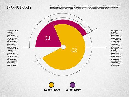 Pie Chart Collection in Flat Design, Slide 8, 01910, Pie Charts — PoweredTemplate.com
