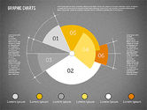 Pie Chart Collection in Flat Design#15