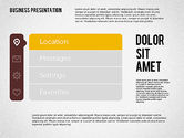 Stage Diagrams: Presentation with Stages and Icons  #01911