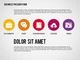 Presentation with Stages and Icons #7