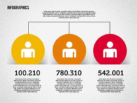 Flat Design Diagrams Set, Slide 4, 01912, Business Models — PoweredTemplate.com