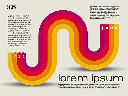 Parabola Style Chart, Slide 8, 01913, Business Models — PoweredTemplate.com