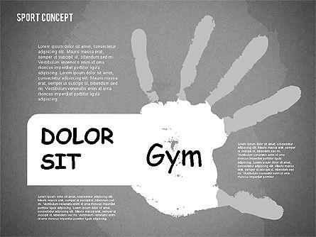 Sports Activities Diagram, Slide 10, 01915, Business Models — PoweredTemplate.com