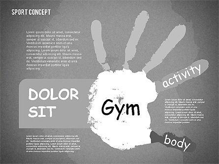 Sports Activities Diagram, Slide 12, 01915, Business Models — PoweredTemplate.com
