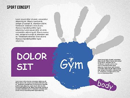 Sports Activities Diagram, Slide 3, 01915, Business Models — PoweredTemplate.com