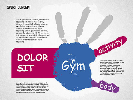 Sports Activities Diagram, Slide 4, 01915, Business Models — PoweredTemplate.com