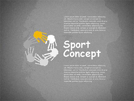 Sports Activities Diagram, Slide 9, 01915, Business Models — PoweredTemplate.com