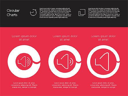 Presentation Toolbox with Circles and Icons, Slide 5, 01916, Presentation Templates — PoweredTemplate.com