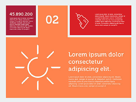 Construction Presentation in Flat Design, Slide 3, 01917, Presentation Templates — PoweredTemplate.com