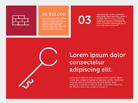 Construction Presentation in Flat Design, Slide 4, 01917, Presentation Templates — PoweredTemplate.com