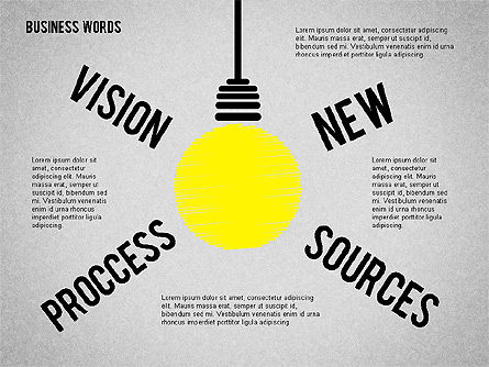 Idea Light Bulb, Slide 2, 01919, Business Models — PoweredTemplate.com