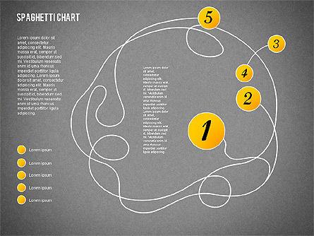 Spaghetti Diagram, Slide 11, 01920, Process Diagrams — PoweredTemplate.com