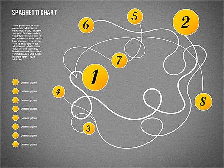 Spaghetti Diagram, Slide 12, 01920, Process Diagrams — PoweredTemplate.com