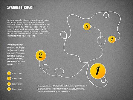 Spaghetti Diagram, Slide 14, 01920, Process Diagrams — PoweredTemplate.com