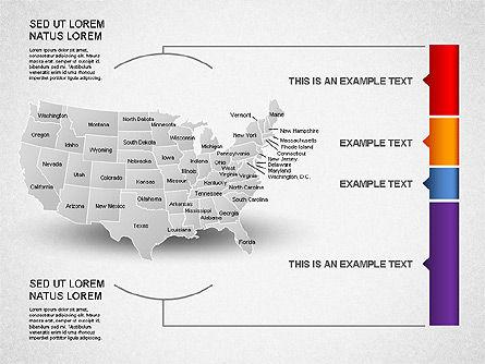 USA Presentation Diagram, Slide 10, 01921, Business Models — PoweredTemplate.com
