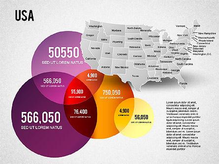USA Presentation Diagram, Slide 11, 01921, Business Models — PoweredTemplate.com